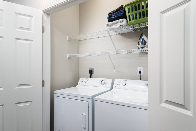 Washer and Dryer in every unit!
