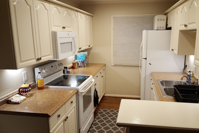 Kitchen - Loganwood House (Bedroom w/shared bath, furnished, wifi & utilities included) for Female only Rental
