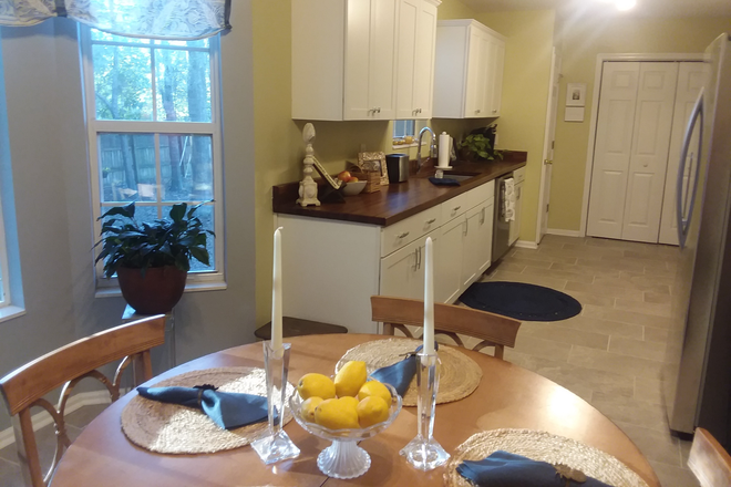 Kitchen / dining room - Large furnished bedroom.  5 mins from MUSC. Utilities, WIFI included. Rental