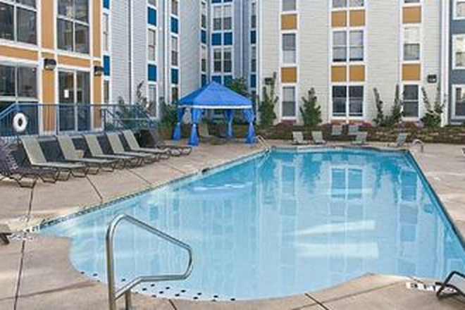 Community pool - U Station Apartments