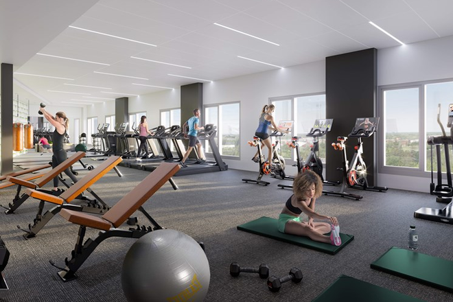 24-Hour Fitness & Wellness Center - The Abbot - Limited Availability For Fall 2020 - Apply Today! Apartments