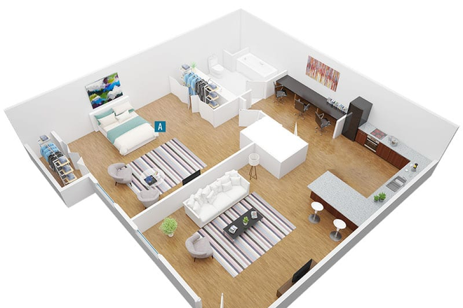 layout - CEV apartments