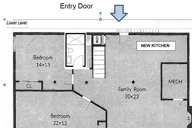 Layout - North Arlington Apartment - walk to Marymount