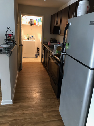 Kitchen - Camden Forest Apartments One Bedroom, One Bath Sublease
