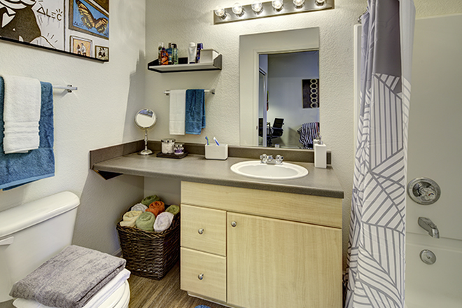 Bathroom - Aggie Station Apartments