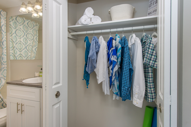 Closet Space - Aspen Chase -  All-Inclusive Apartments Minutes From Campus! Join Our Waitlist for Summer/Fall 2021!