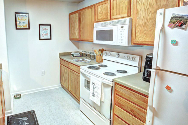 example of kitchen - Catamount Peak Apartments