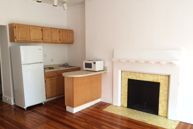 KITCHEN/FIREPLACE MANTLE - NO BROKER FEE - SPACIOUS ONE BEDROOM APARTMENT AT 1077 BEACON STREET AVAIL. 7/1/2021