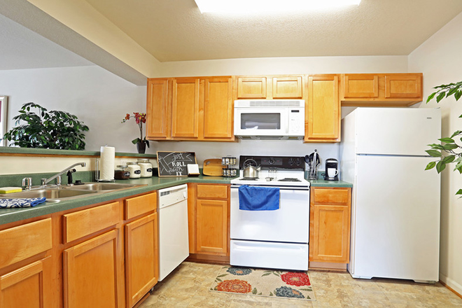 Kitchen - The Vistas at Dreaming Creek Apartments