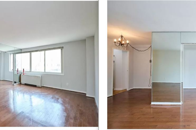 Living Area 1 - Avail. Now -Freshly Painted Nice Studio Apt. for Rent with Assigned Off-Street Parking Spot in