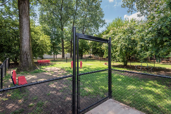 Dog park - The Estates at River Pointe Apartments