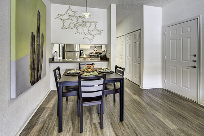 Dining area - Aggie Station Apartments