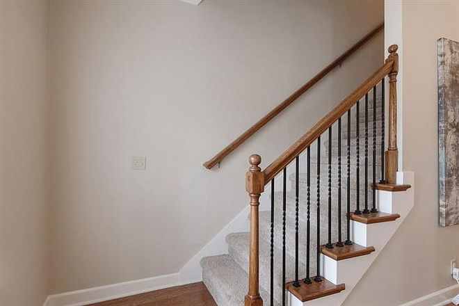 stairs to 2nd floor - Comfy-upscale townhome at the right price!