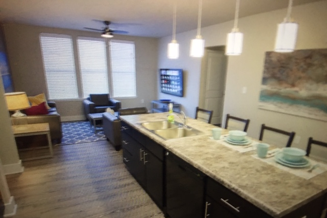 Modern Kitchen - The OASIS Apartments, close to Liberty campus