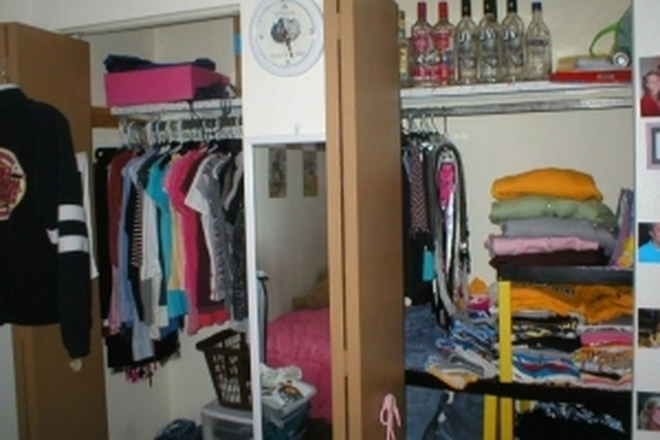 Closet - 21/22 Laundry and Free WiFi! Apartments