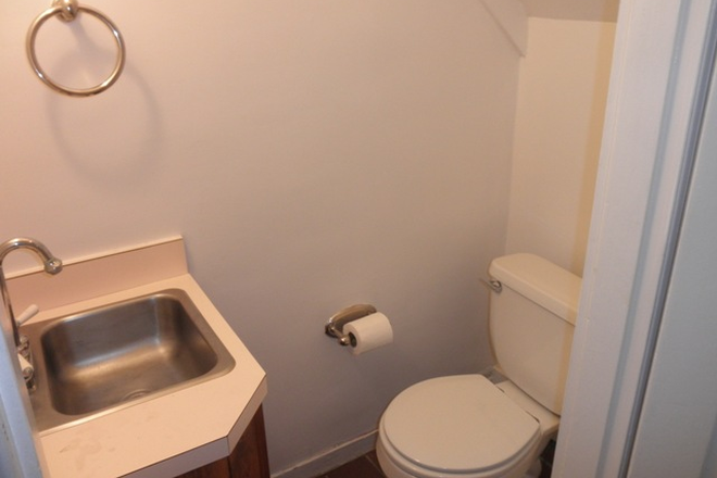 Half Bathroom - Charming 2 possible 3 bed, 1 ½ bath Townhouse in Fells Point