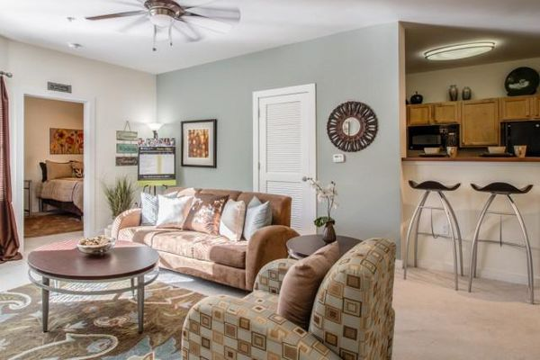 Luxury Off-Campus Furnished Apartment With Private Bedroom Suites. Includes High-Speed Internet,Water, Designer Kitchen with Appliances, Full-Size Washer and Dryer, Spacious Closets and more.