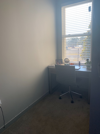 Personal desk corner - Bixby Apartments