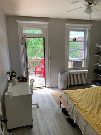 Bedroom - Student Housing Available in Historic Charles Village Townhome