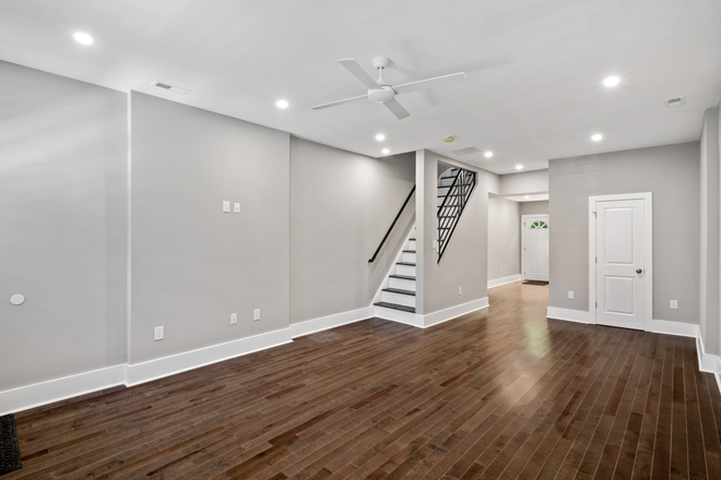 Living/Dining Room - Beautifully Renovated Christian Street Home Close to Campuses Rental