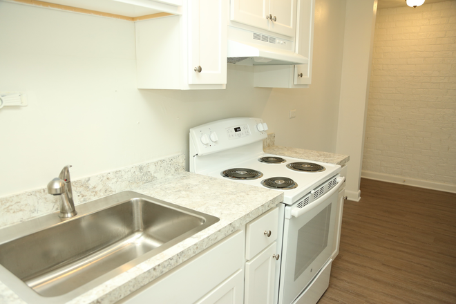Updated kitchen - 2 Bedroom Apartment Available on Grady Ave | Pet Friendly | Free Parking