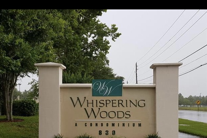 Entrance - Whispering Woods, 830 Airport Road Condo