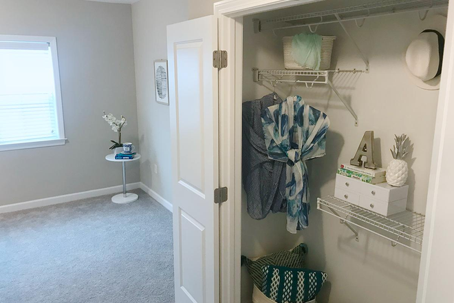4x4 Bedroom Closet - Alpine Commons -  All Inclusive Studio, 2,3 & 4 Bedrooms! Join Our Waitlist for Summer/Fall 2021! Apartments