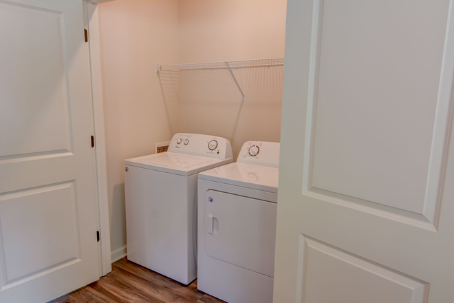 Washer and dryer included in every unit - University Commons Rental