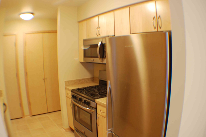 Stainless steel appliances & gas stove