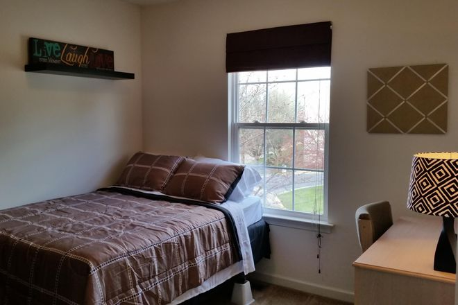Bedroom 4 - gorgeous views of elegant maple trees and surrounded by vast open lawns