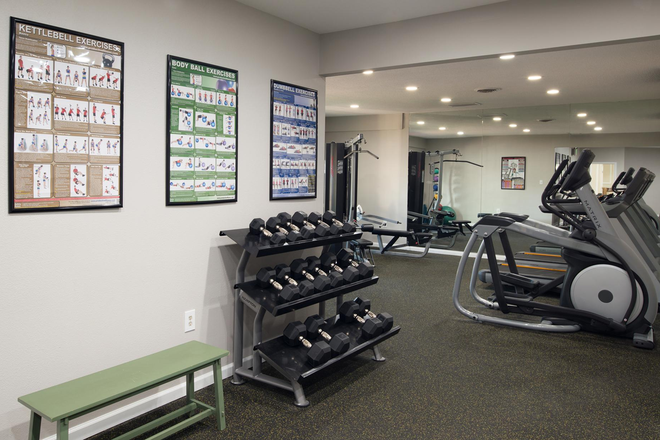 Fitness Center - Steeplechase Apartment Homes