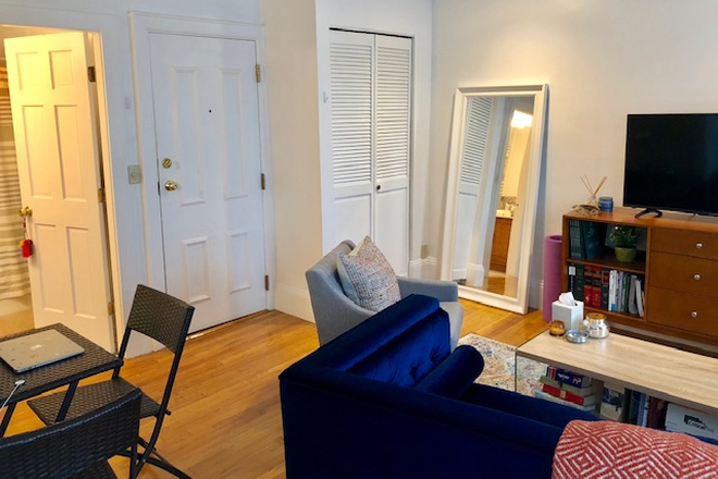 LIVING ROOM - TRULY SPECTACULAR STUDIO CONDOMINIUM AVAILABLE AT 523 COLUMBUS AVENUE IN THE SOUTH END FROM 6/1/2021