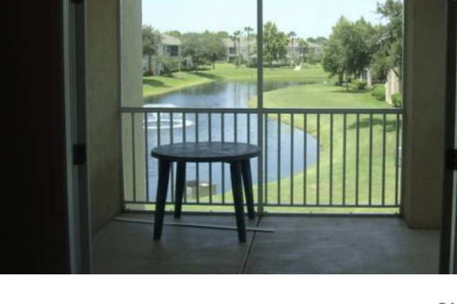 patio - Whispering Woods, 830 Airport Road Condo