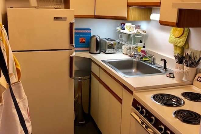 KITCHEN - TRULY SPECTACULAR STUDIO CONDOMINIUM AVAILABLE AT 523 COLUMBUS AVENUE IN THE SOUTH END FROM 6/1/2021