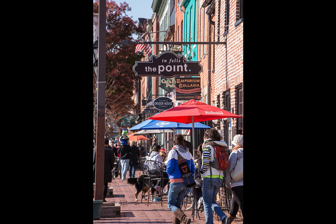 Fells Point within a walking distance. - Jefferson Square at Washington Hill Apartments Close to John's Hopkins Hospital.