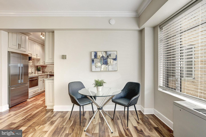 breakfast area - Beautiful renovated unfurnished studio at heart of Dupont Circle FREE MONTH and ALL UTILS INCLUDED Condo