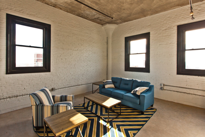 Living Room - Pershing Hill Lofts