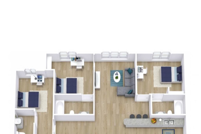 Floor plan - Bellamy Daytona Rental