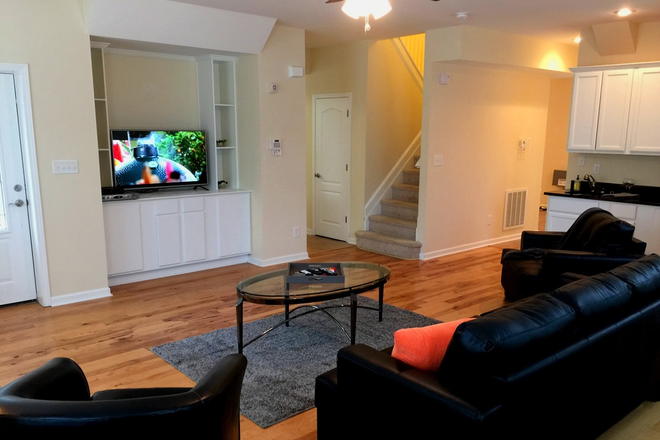 Flat Screen TVs in every townhome!