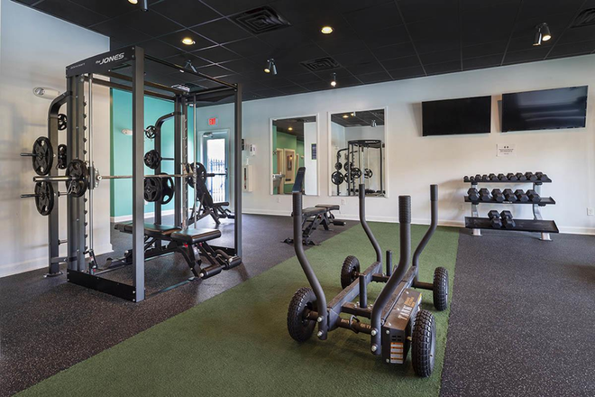 24/7 Fitness Center - Aspire 349 Apartments
