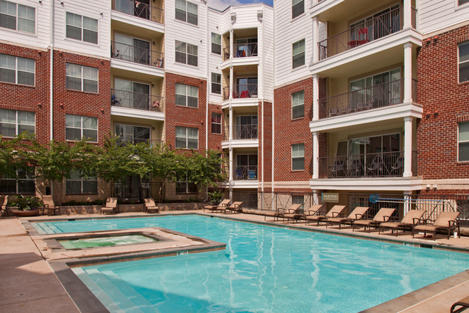 Access to the pool at GrandMarc - Wertland Square Apartments
