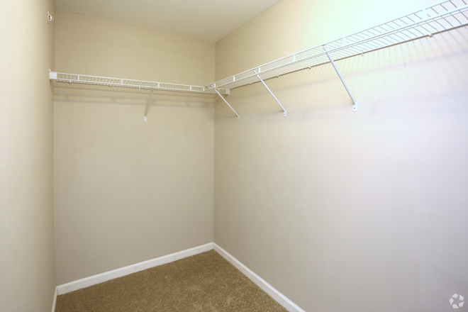 Closet - Mills Crossing Apartments
