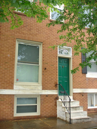 Outside Street View - Charming 2 bed, 1 bath Townhouse in Canton