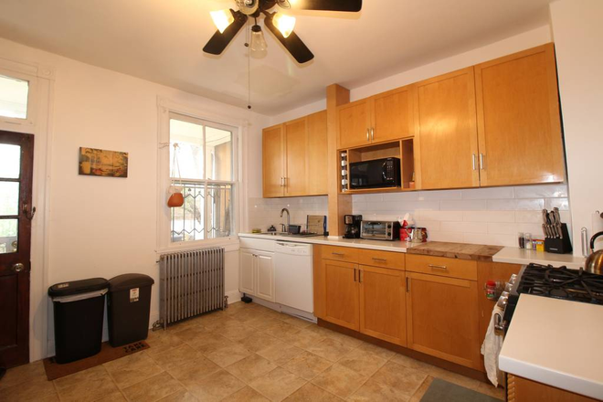 Kitchen - Basement Unit in Charming Art-Filled House - All Utilities and Biweekly Cleaning Included Townhome