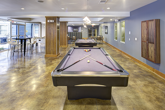 Game Room - U Pointe Kennesaw Apartments