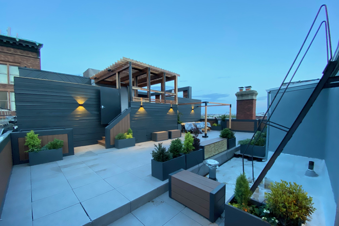 Roof deck - Midtown/Wash Square 2B 2.5B Condo for Rent (Utilities included)