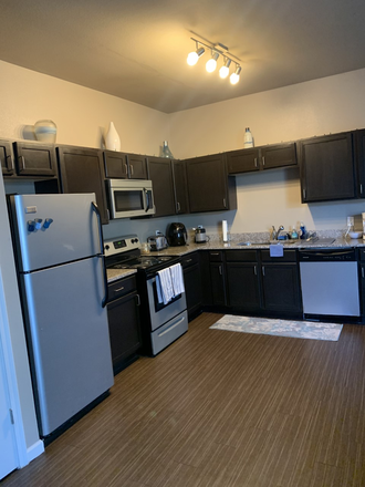 Kitchen - Sublet for spacious bedroom at The Wyatt (close to campus!) Apartments