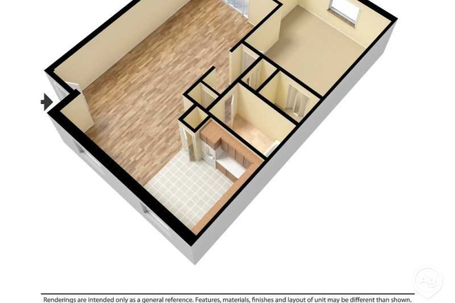 Poolside Delight Floor Plan - Marcell Garden Apartments with in minutes to your campus