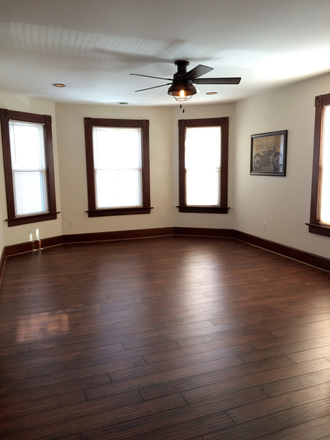 Large 14 x 20 living room. - Utilities included, 2 blks. from Palmer, In unit laundry. Apartments