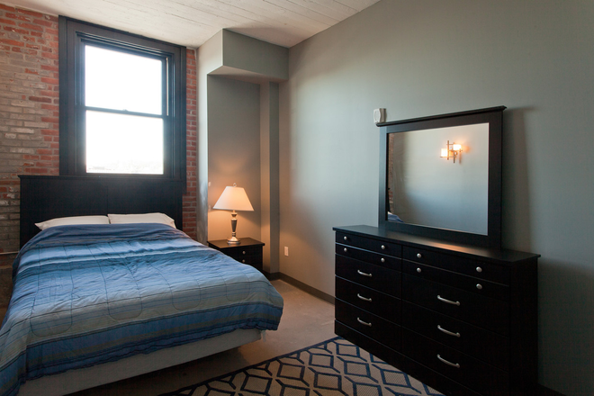 Bedroom - Pershing Hill Lofts